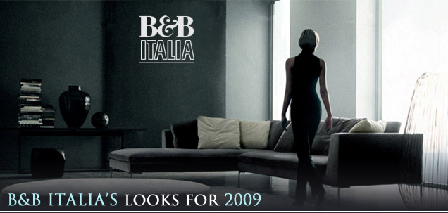 Fine furniture by b b italia looks for 2009 for B and b italia