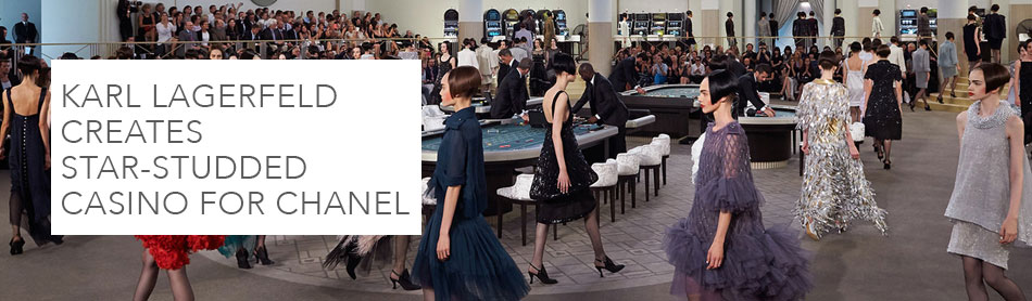 Karl Lagerfeld Creates Star-Studded Casino for Chanel Couture Fall/Winter 2015