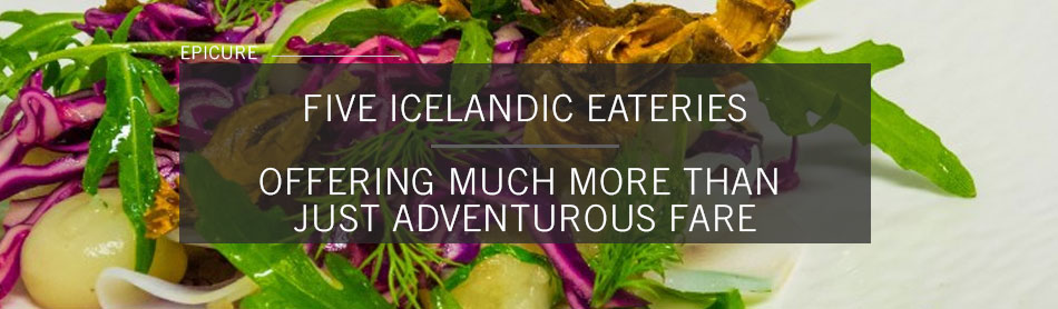 Five Icelandic Eateries That Offer Much More Than Just Adventurous Fare