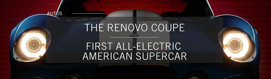 Circuit-Ready Renovo Coupe is the First All-Electric American Supercar, Boasts 0-60 in 3.4