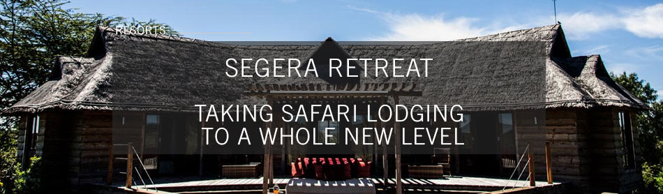 Segera Retreat in Kenya Takes Safari Lodging to a Whole New Level