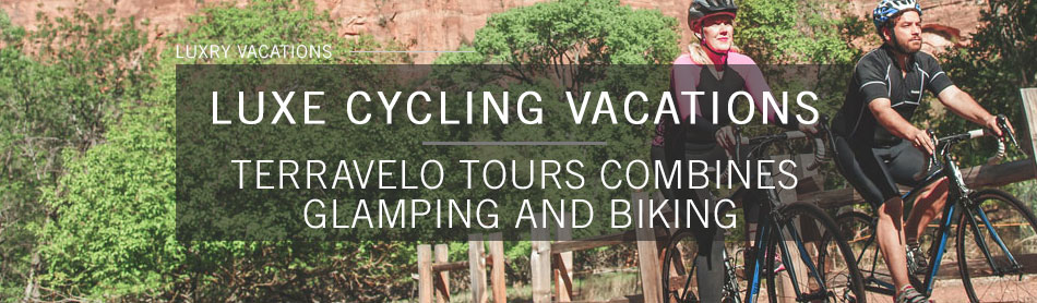 Bike Through Utah, California or Wyoming While Glamping All Along the Way