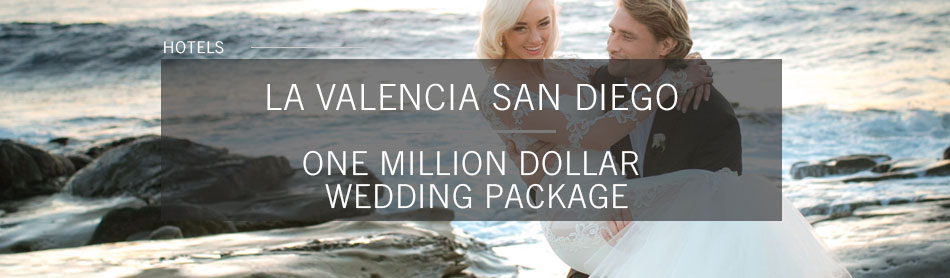 La Valencia Offers $1M Package for Wedding Parties to Take Over Beachside Hotel