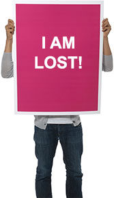 I am Lost!