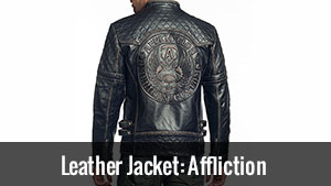 Leather Jacket: Affliction