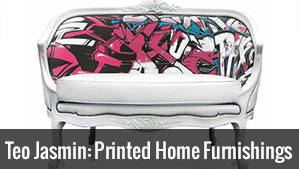 Teo Jasmin: Printed Furniture & Home Furnishings