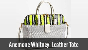 Anemone Whitney Leather Tote: Mark Jacobs