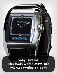 Exercise Control with Sony Ericsson Bluetooth Watch MBW-100