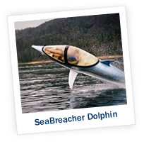 SeaBreacher Dolphin Makes Waves