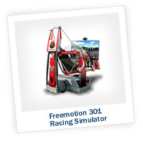 The Stimulating Freemotion 301 Racing Simulator
