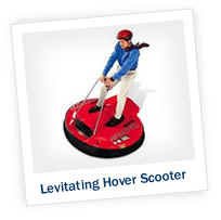 Get a Rise with a Levitating Hover Scooter!