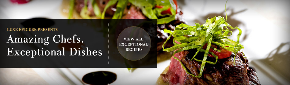 Amazing Chefs, Exceptional Dishes